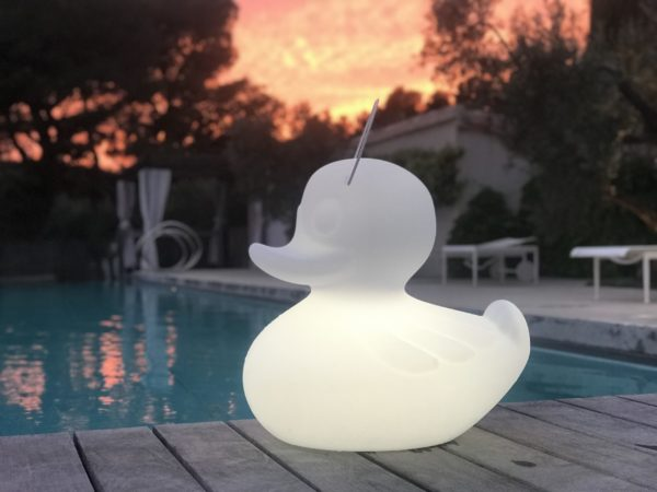 The Duck Duck Lamp [S] Night outdoors